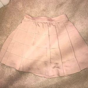 BCBG Pleated Mini Skirt